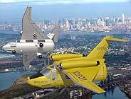Los taxis del futuro, ¿con alas?